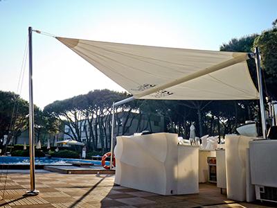 Tenda A Vela Per Terrazzo : Tende da sole verona pergolati verona offerta tende da sole